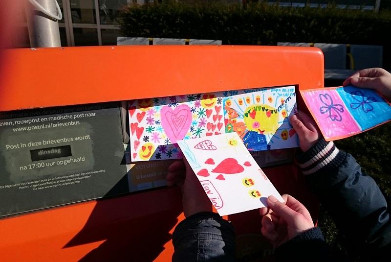 brievenbus valentijnsdag