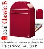 bobi classic brievenbus rood