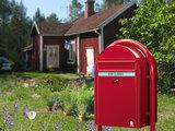 rode brievenbus ral 3001