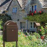bruine brievenbus bobi classic