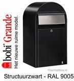 brievenbus bobi grande zwart