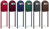 bobi grande brievenbussen met round
