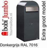 Brievenbus Bobi Jumbo donkergrijs RAL 7016_