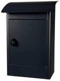 Grote brievenbus Zandvoort zwart mat_