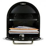 US Mailbox mét slot / Afsluitbare brievenbus zwart_