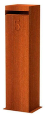 Design brievenbus cortenstaal Lasko