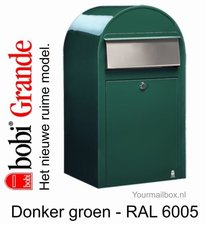 Brievenbus Bobi Grande donkergroen RAL 6005