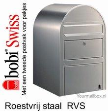 Brievenbus Bobi Swiss RVS