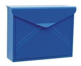 Envelop brievenbus blauw