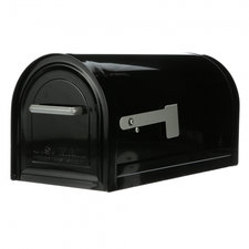 US Mailbox mét slot / Afsluitbare brievenbus zwart
