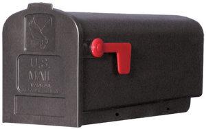 US Mailbox brievenbus kunststof zwart