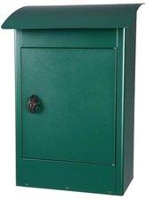 Grote brievenbus Zandvoort groen mat