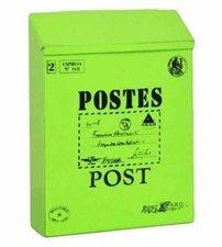 Brievenbus Post kaart groen