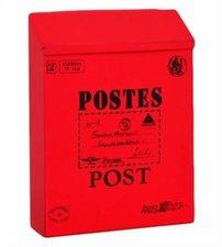Brievenbus Post kaart rood