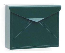 Envelop brievenbus donkergroen