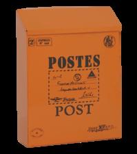 Brievenbus Post kaart oranje (B-keus)