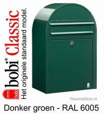 Brievenbus Bobi Classic donkergroen RAL 6005