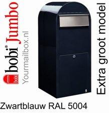 Brievenbus Bobi Jumbo zwartblauw RAL 5004