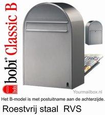 Brievenbus Bobi Classic B RVS