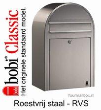 Brievenbus Bobi Classic RVS