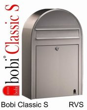 Bobi brievenbus Classic S RVS