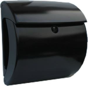 brievenbus luxe kunststof zwart