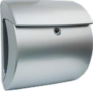 brievenbus kiel zilver