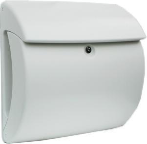brievenbus kunststof wit