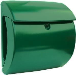 brievenbus kunststof plastic groen