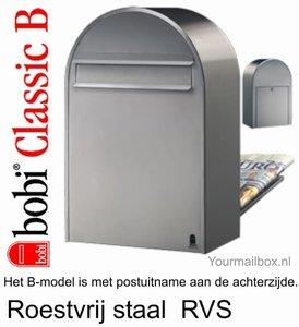 Bobi classic rvs brievenbus