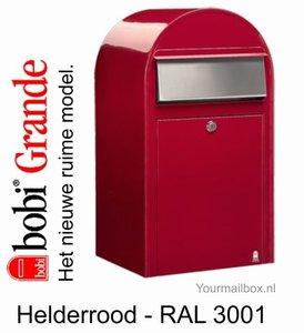 brievenbus bobi grande rood