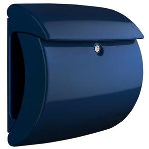 Brievenbus Burgwachter hoogglans piano marineblauw