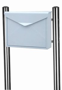 Envelop brievenbus wit met statief