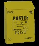 brievenbus goedkoop geel